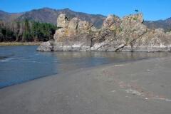 Пляж вид справа